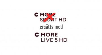 C More Live 5 HD ersätter C More Sport HD