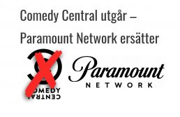 Comedy Central ersätts med Paramount Network