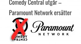 Comedy Central ersätts med Paramount Network