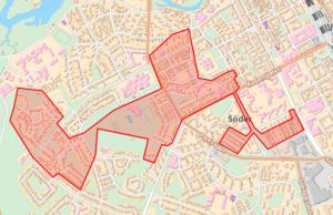 Karta över Olsbacka