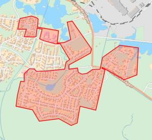 Karta över Storhagen