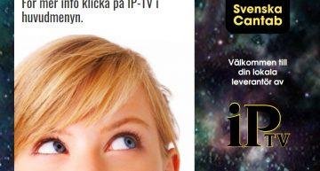 Idag är det lanseringsstart för våran nya IPTV-tjänst.