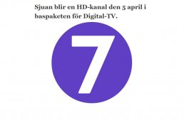 Sjuan blir en HD-kanal den 5 april