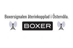 Boxersignalen återinkopplad i Östervåla
